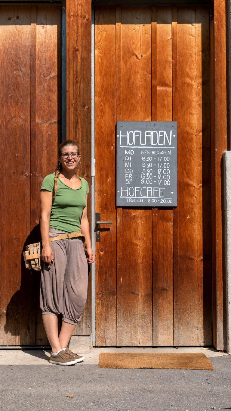 Mitarbeiterin Nathalie Condemi