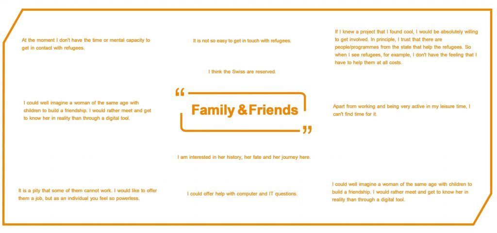Quotes from family and friends