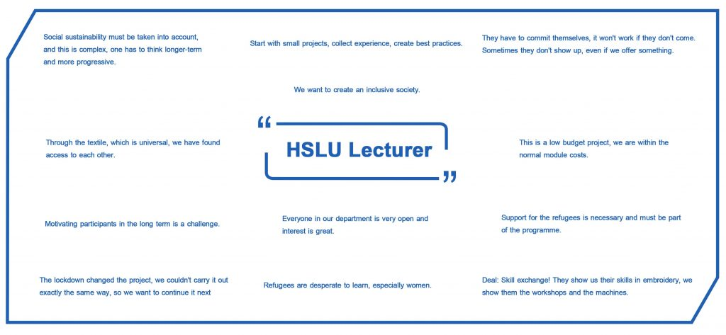 Lecturer quotes